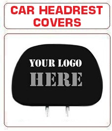 Custom Car Headrest Covers