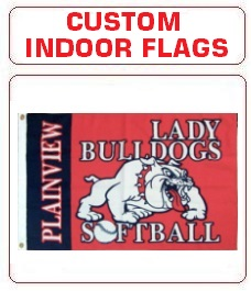 Custom Indoor Flags Made