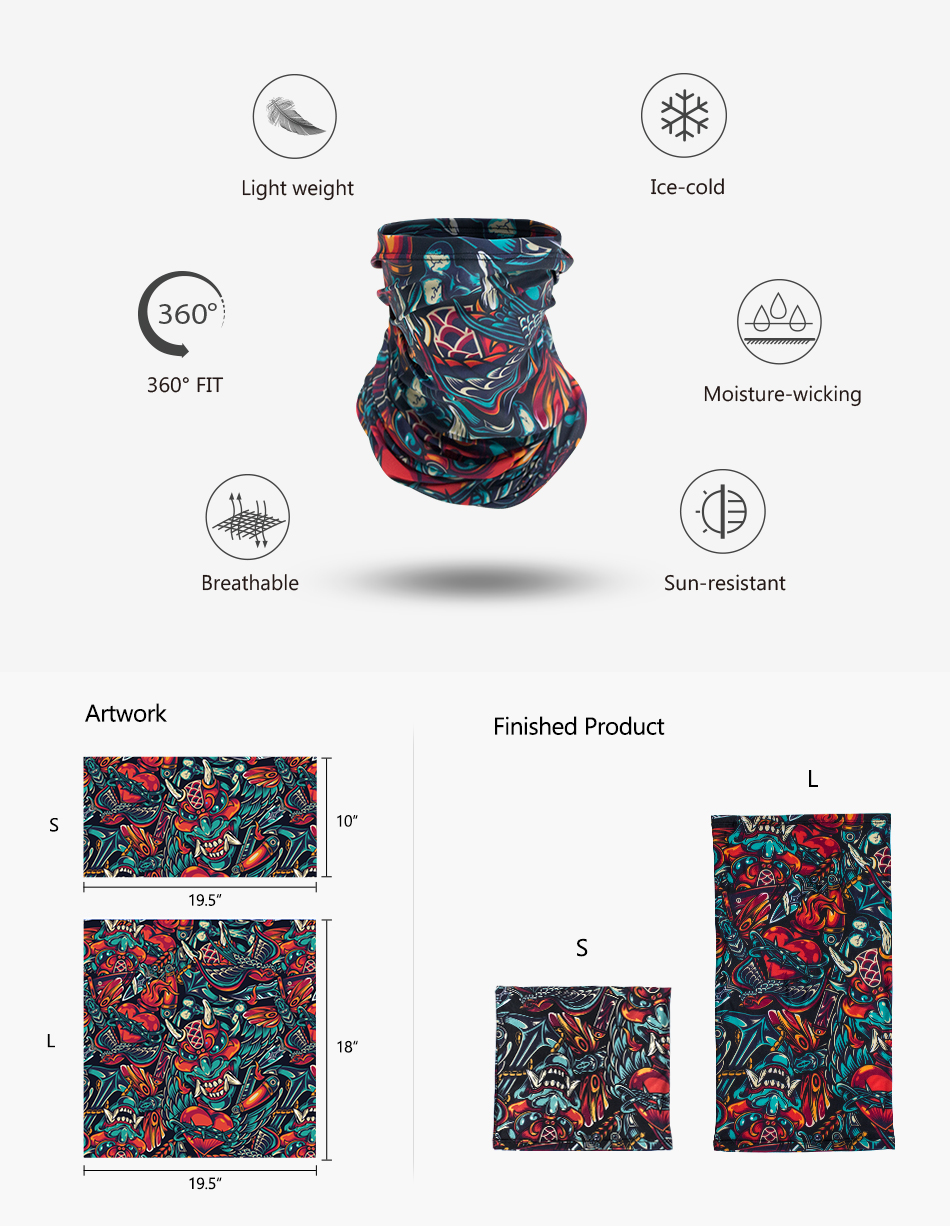 Custom Printed Neck Gaiter