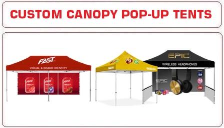 Custom Canopy Tents Pop Up Tents Advertising Tents